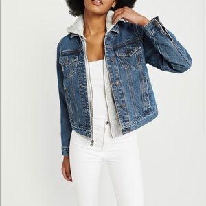 Abercrombie and Fitch Twofer Denim Jacket